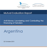 Mutual Evaluation of Argentina. Adopted by the FATF Plenary 22 October 2010.
